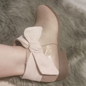 Pink ancle boots fit size 5.5